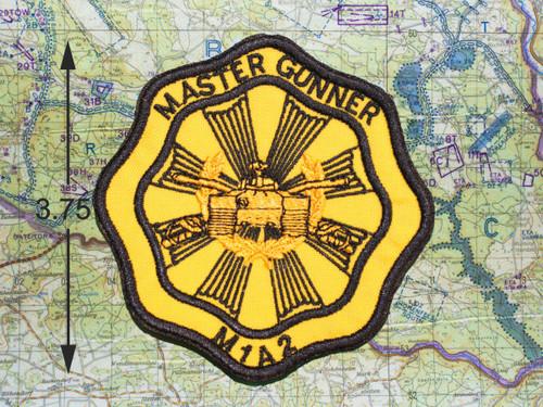 MASTER GUNNER M1A2 PATCH