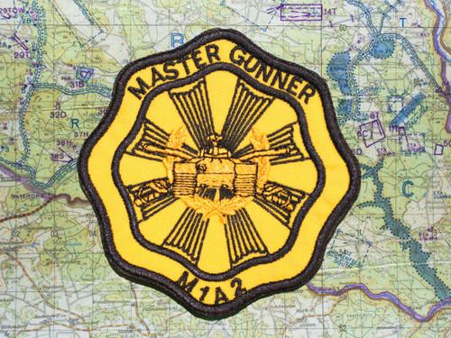 M1A2 MASTER GUNNER PATCH