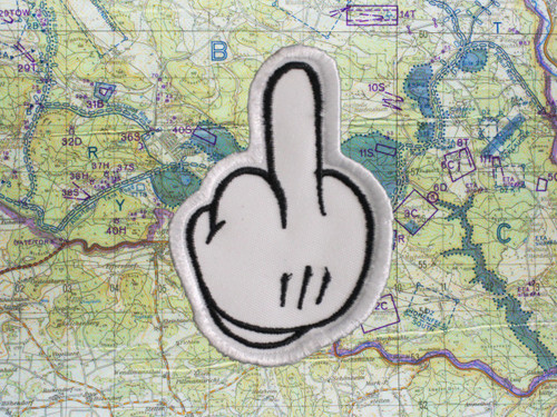Mickey Middle Finger Morale Patch 1