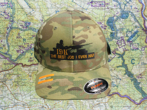 19K The Best Job I ever Had Multicam Ball Cap