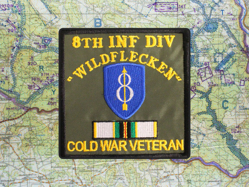 8th ID COLD WAR VETERAN PATCH WILDFLECKEN