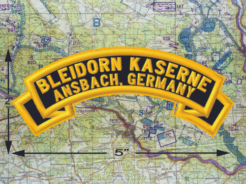 Bleidorn Housing Area, Ansbach