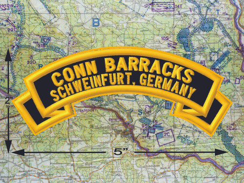Conn Barracks Schweinfurt Black Patch