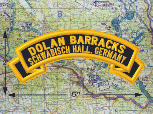 Dolan Barracks Schwäbisch Hall Black Patch