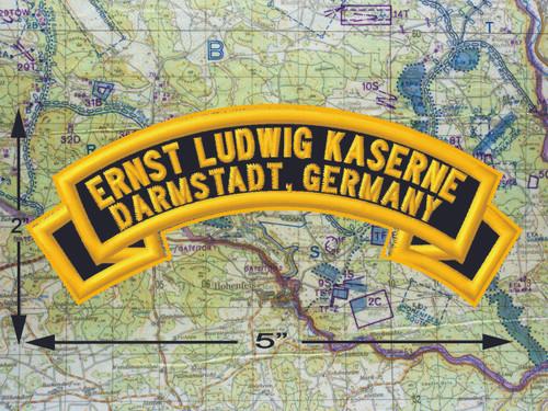 Ernst Ludwig Kaserne Darmstadt Black Patch