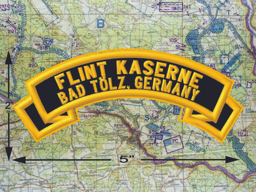 Flint Kaserne Bad Tölz Black Patch
