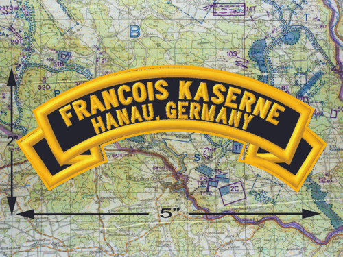 Francois Kaserne Hanau Black Patch
