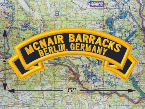 McNair Barracks Berlin Black Patch