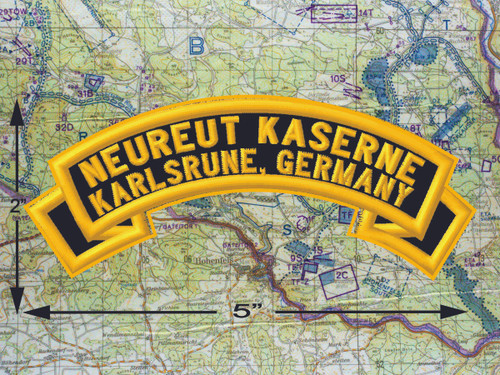 Neureut Kaserne Karlsruhe Black Patch