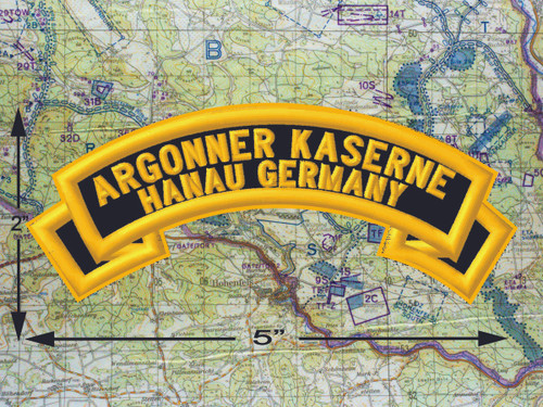 Argonner Kaserne Hanau Black Patch