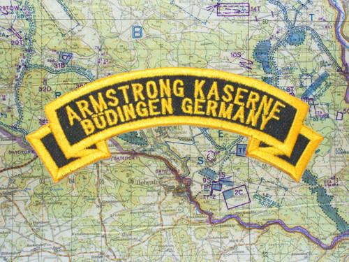 Armstrong Kaserne Büdingen Black Patch 4