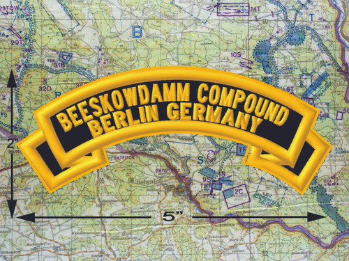 Beeskowdamm Compound Berlin Black Patch