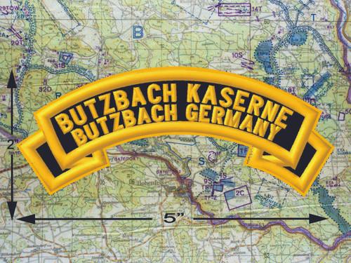 Butzbach Kaserne Butzbach Black Patch