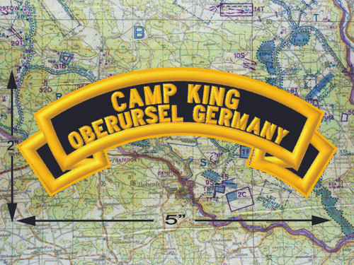 Camp King Oberursel Black Patch