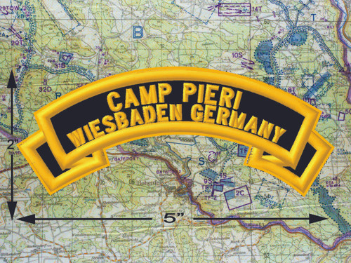 Camp Pieri Wiesbaden Black Patch