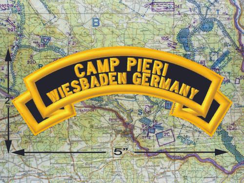 Camp Pieri Wiesbaden Black Patch