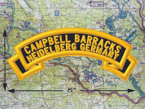 Campbell Barracks Heidelberg  Black Patch