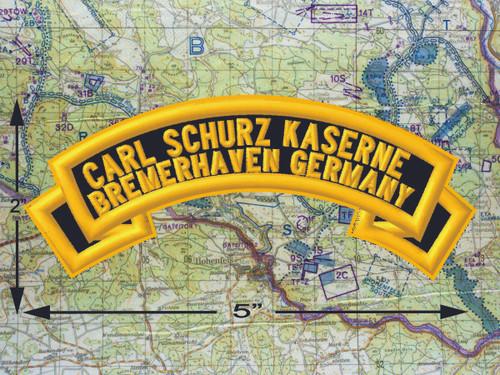 Carl Schurz Kaserne Bremerhaven