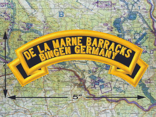 De La Marne Barracks Black Patch