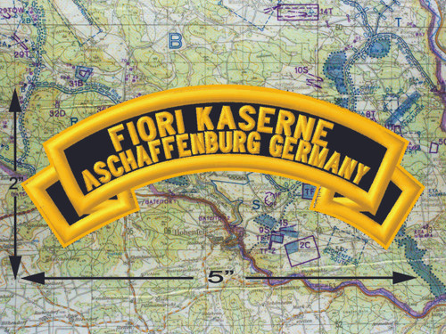 Fiori Kaserne Aschaffenburg Black Patch