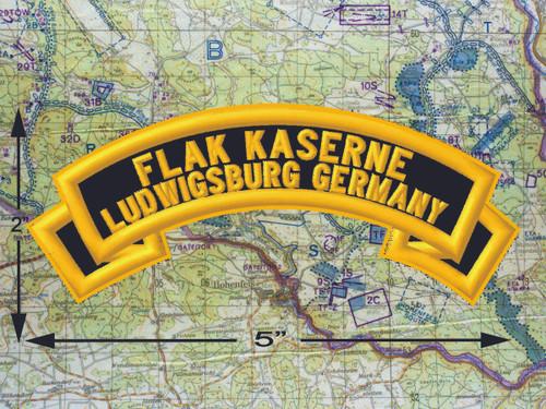Flak Kaserne Ludwigsburg Black Patch