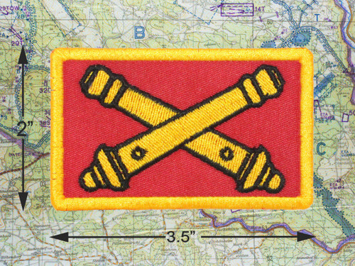 FIELD ARTILLERY MORAL PATCH