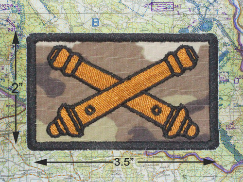 FIELD ARTILLERY MULTICAM MORALE PATCH