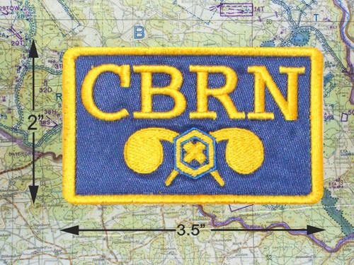 CBRN CHEMICAL MORALE PATCH