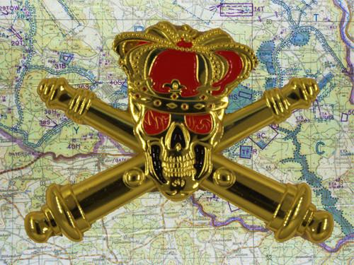 king of battle pin