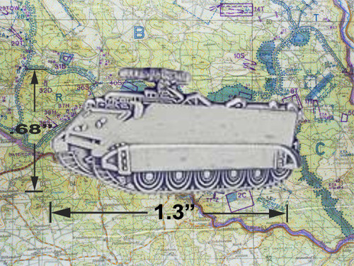 M113 Personnel Carrier Pin