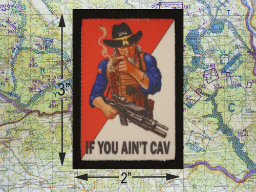 If You Aint Cav Moral Patch