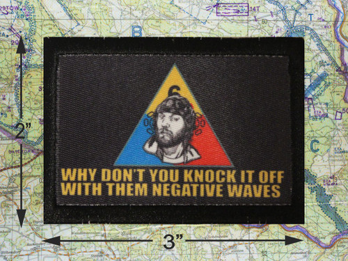Negative Waves Morale Patch