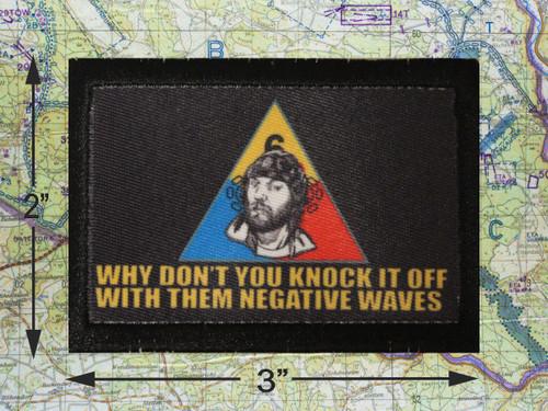 Negative Waves Morale Patch
