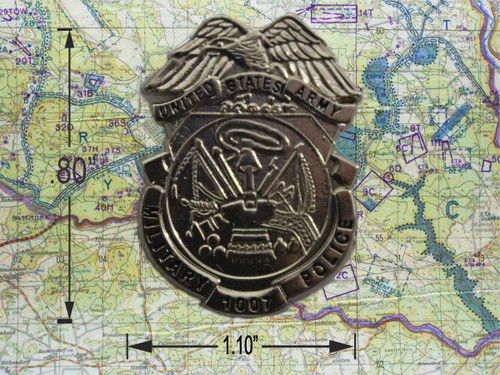 Military Police Badge Pin