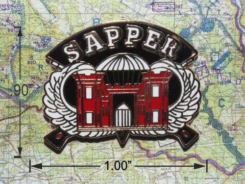 Airborne Sapper Hat Pin