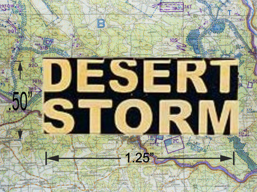 Desert Storm Hat Pin
