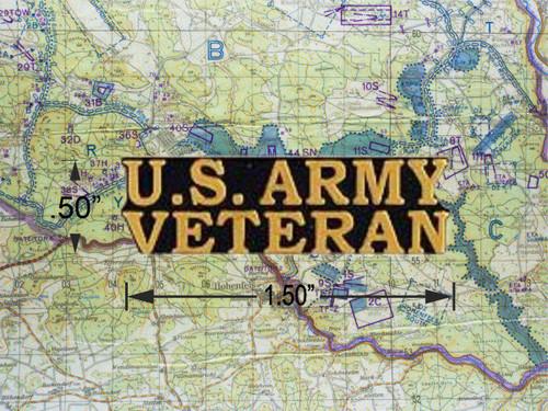 U.S. Army Veteran Hat Pin