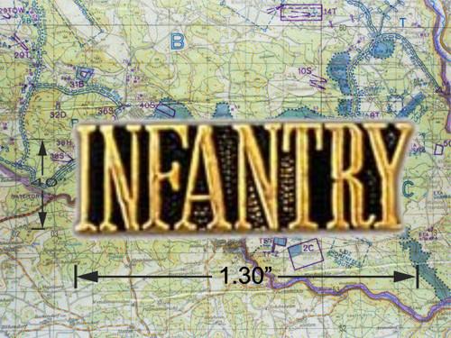 Infantry Hat Pin