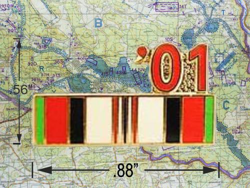 Enduring Freedom Ribbon 01 Cap Pin