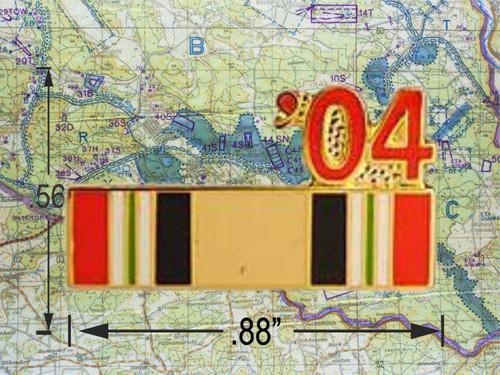Iraqi Freedom  Ribbon 04 Hat Pin