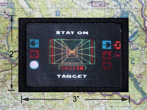 Stay On Target Moral Patch