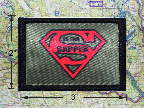 S is For Sapper Morale Patch