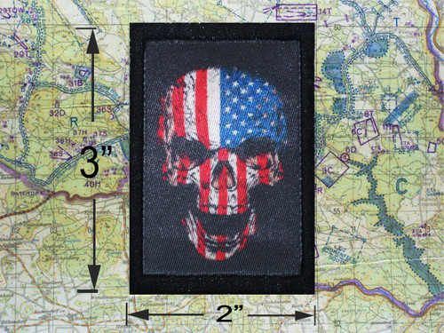 Freedom Skull Moral Patch