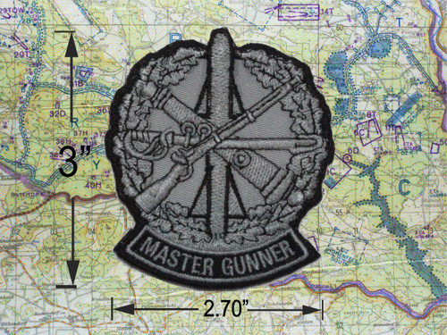 New Master Gunner Patch