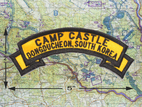 Camp Castle Dongducheon South Korea