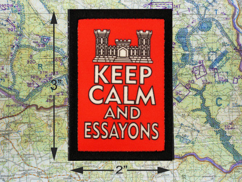Keep Calm and Essayons