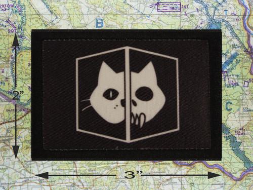 Schrodinger's Cat Black Morale Patch