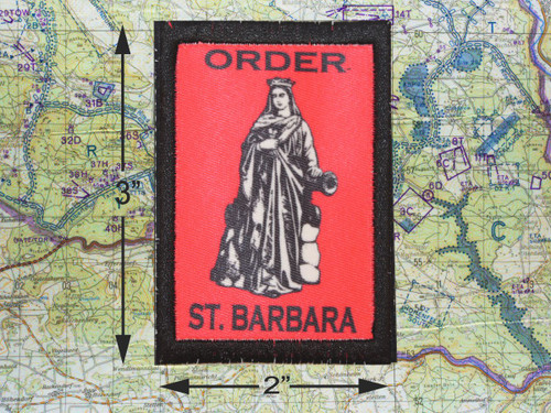 Order of Saint Barbara Morale Patch 1