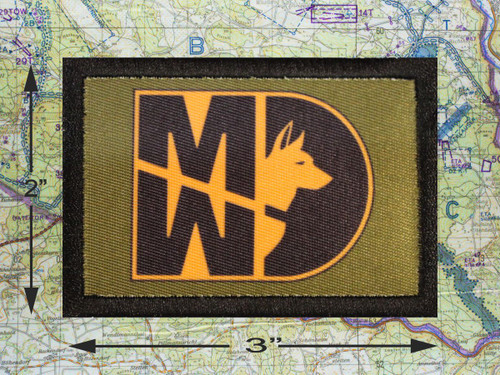 Military Working Dog Morale Patch