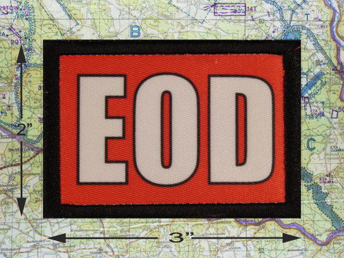 EOD Red Morale Patch
